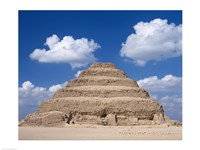 Step Pyramid of Zoser, Sakkara, Egypt Fine-Art Print