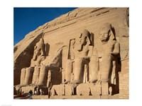 Temple of Ramses II, Abu Simbel, Egypt Fine-Art Print