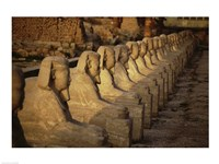 Avenue of the Sphinxes Karnak Temple Luxor Egypt Fine-Art Print