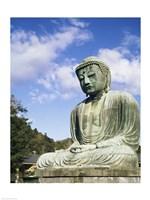 Statue of Buddha, Kamakura, Japan Fine-Art Print