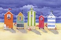 Brighton Huts Fine-Art Print