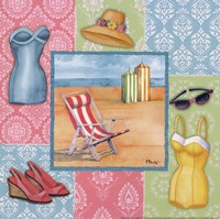 Beach Wear II Fine-Art Print