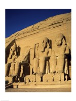Great Temple of Ramses II, Abu Simbel, Egypt Fine-Art Print