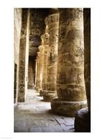 Hieroglyphics,Temples of Karnak, Luxor, Egypt Fine-Art Print