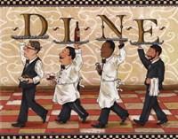 Waiters Dine Fine-Art Print
