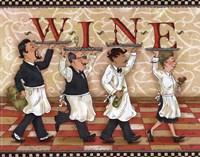 Waiters Wine Fine-Art Print