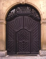 Prague Door III Fine-Art Print