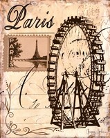 Paris Collage III Fine-Art Print