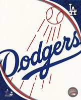 2011 Los Angeles Dodgers Team Logo Fine-Art Print