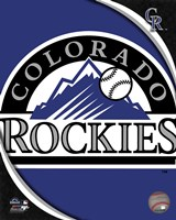 2011 Colorado Rockies Team Logo Fine-Art Print