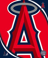 2011 Los Angeles Angels Team Logo Fine-Art Print