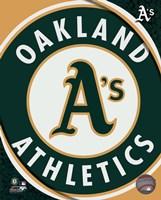 2011 Oakland A's Team Logo Fine-Art Print