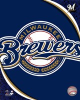 2011 Milwaukee Brewers Team Logo Fine-Art Print