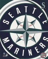 2011 Seattle Mariners Team Logo Fine-Art Print