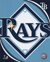 2011 Tampa Bay Rays Team Logo Fine-Art Print