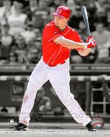 Jay Bruce 2011 Spotlight Action Fine-Art Print