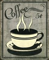 Retro Coffee I Fine-Art Print