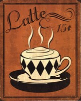 Retro Coffee IV Fine-Art Print