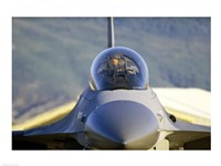 F-16 Fighter Jet US Air Force Fine-Art Print