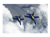 U.S. Navy Blue Angels F-18 Hornets photography Fine-Art Print