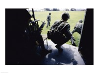 UH-1H, Troops Dismounting from Helicopters Fine-Art Print