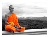 Abbot of Watkun Meditating Fine-Art Print