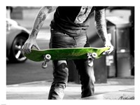 Green Skateboard Fine-Art Print