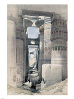 Temple of Karnacs Egypt Fine-Art Print