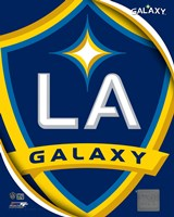 2011 LA Galaxy Team Logo Fine-Art Print
