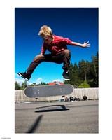 Skateboarder Fine-Art Print