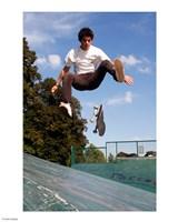 Skateboarding Jump Fine-Art Print