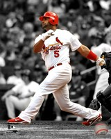 Albert Pujols 2011 Spotlight Action Fine-Art Print