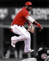 Brandon Phillips 2011 Spotlight Action Fine-Art Print