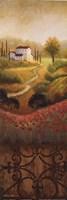 Flourishing Vineyard Panel I Fine-Art Print