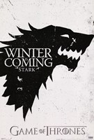 Game of Thrones - Stark Sigil Wall Poster