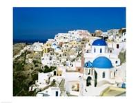Santorini, Oia, Cyclades Islands, Greece Fine-Art Print