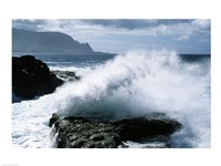 Kauai Hawaii USA Waves Crashing Fine-Art Print