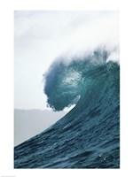 Close-up of an ocean wave, Waimea Bay, Oahu, Hawaii, USA Fine-Art Print