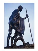 Statue of Mahatma Gandhi, Chennai, Tamil Nadu, India Fine-Art Print
