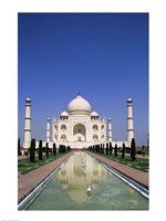 Taj Mahal, Agra, India Reflection Fine-Art Print