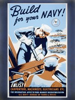 Build for your Navy! Fine-Art Print
