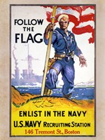 Follow the Flag Fine-Art Print
