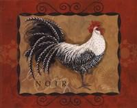 Rooster Noir Fine-Art Print