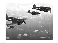 Fighter planes in flight, US Marine Corps Fine-Art Print