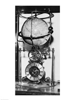 American clock built in 1880 from the James Arthur Collection of Clocks and Watches, New York University Fine-Art Print