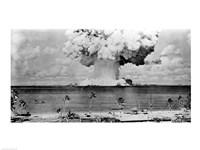 Atomic bomb explosion, Bikini Atoll, Marshall Islands Fine-Art Print