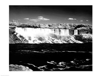 Canada, Niagara Falls, Infrared view, taken from Canadian side Fine-Art Print