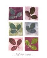 Leaf Impressions Fine-Art Print