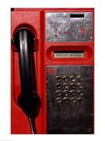 Close-up of a pay phone Fine-Art Print