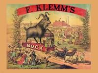 F. Klems Bock Beer Fine-Art Print